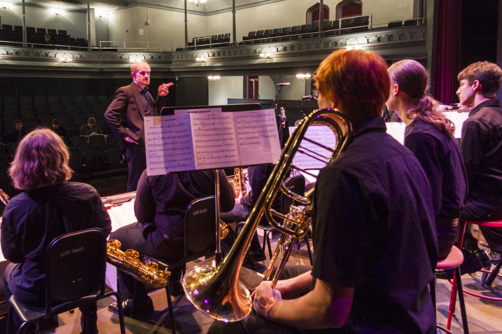 Brian Lynch rehearsal